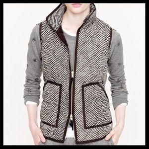 J. Crew Factory Excursion Quilted Vest